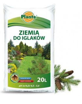 Substrát - PLANTA - pre ihličnany - 50 l