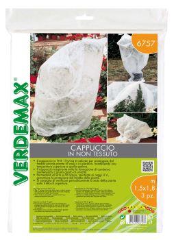 Ochranná textília - VERDEMAX - návlek na rastliny - 17g/m2, biela, 1,5 x 1,8 m - bal.3 ks