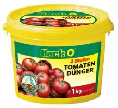 Hnojivo granulov. - HACK - Tomaten - paradajky - dlhodobé 5M - 1 kg vedro