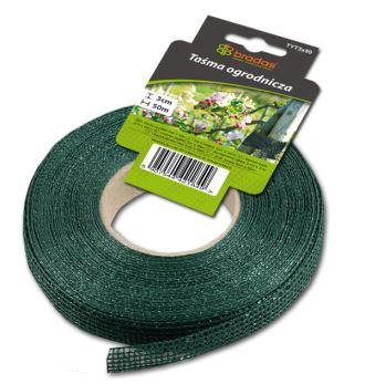 Páska záhradnícka - pre fixáciu a uväzovanie rastlín - 3 cm x 50 m- BRADAS