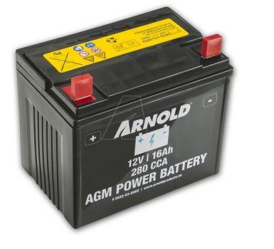 Batéria - bezúdržbová 12V-16AH