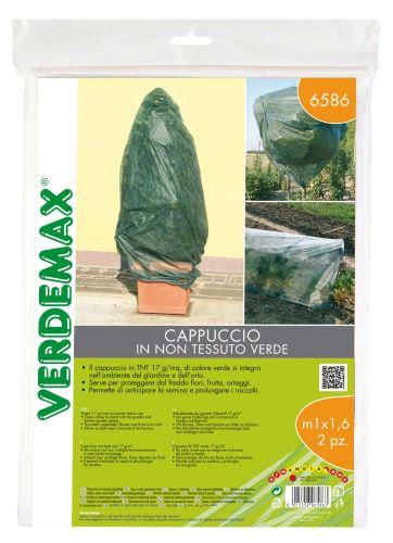 Ochranná textília - VERDEMAX - návlek na rastliny - 17g/m2, biela, 1,0 x 1,6 m - bal.2 ks