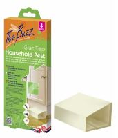 The Buzz Household Pest Glue Trap, 4 Pack