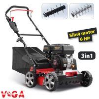 Vertikutátor - benzínový - VeGA TS40-W 3in1- V-GARDEN
