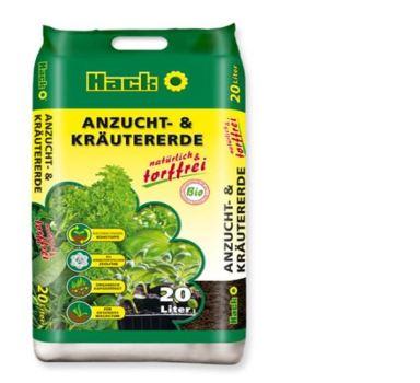 Substrát - HACK pre bylinky a výsevy BIO kvalita - 20 l