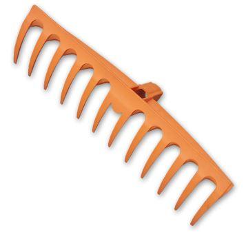 Hrable - 12-zubov - 40 cm, bez rúčky- BRADAS