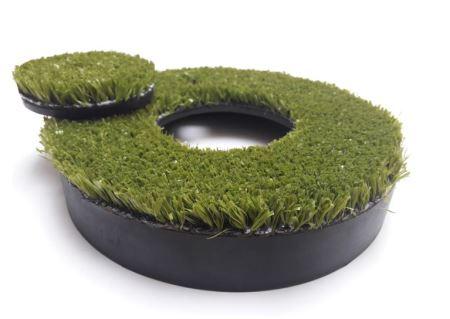 P - Kryt s umelou trávou pre postrekovače série FLEX 50
