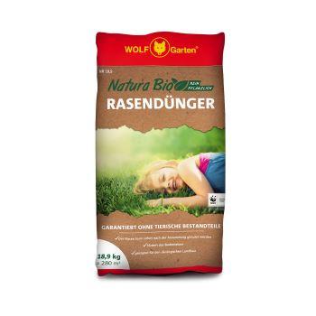 Hnojivo - WOLF NATURA Organické hnojivo na trávnik - 10,8 kg (168 m2)