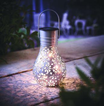 solar filigree Lightbulb