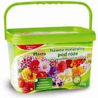 Hnojivo granulov. - PLANTA - ruže - 5,0 kg vedro