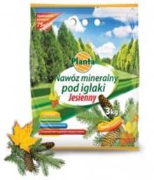 Hnojivo granulov. - PLANTA - ihličnany - jesenné - 3,0 kg vrecko