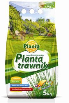 Hnojivo granulov. - PLANTA - trávnik - ekonomické balenie - 5,0 kg