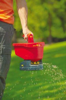 Rozmetadlo hnojiva - ručné, batériové - WE-B