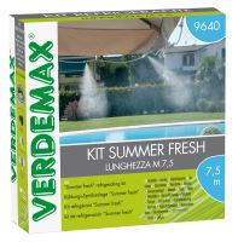 Ochladzovací / zamlžovací SET - VERDEMAX - Summer fresh