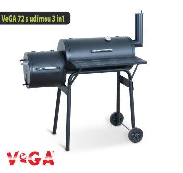 Gril - VeGA GRIL 72 s udiarňou 3in1- V-GARDEN