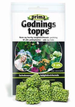 Hnojivo - Fertiliser Toppings - v tvare valčekov - balenie 8 ks