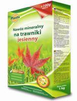 Hnojivo - PLANTA Trávnik jeseň - 1,0 kg + 100 g ZDARMA