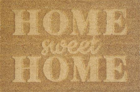 """Koberček pred dvere - VERDEMAX - Doormat """"Home sweet home"""" cm 45x75"""