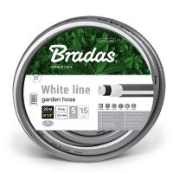 "Garden Hose WHITE LINE New 3/4"" - 20 m"