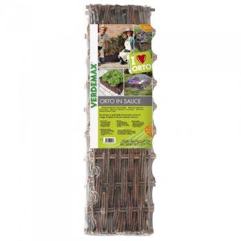 Nádoba na pestovanie - VERDEMAX - prútená - 80 x 80 x 20 cm