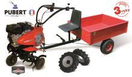 "Kultivátor - VARIO 65B C3 + kolesá 10"" + vozík HV 220L- V-GARDEN"