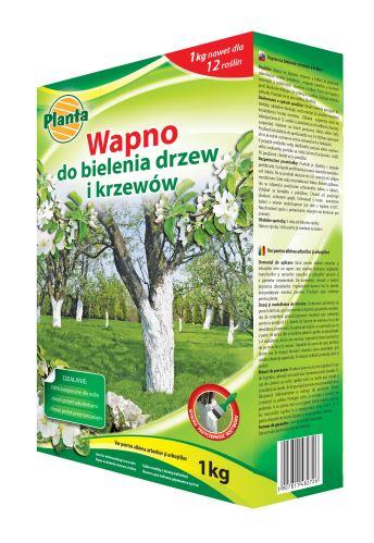 Vápno - PLANTA Vápno na bielenie stromov a krov - 1,0 kg