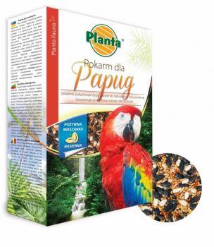 Krmivo pre vtáctvo - PLANTA - pre papagájov - 0,5 kg