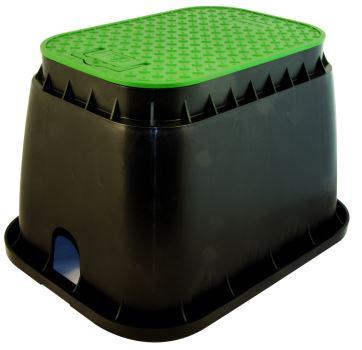--- Ventilová šachta RAIN (logo Profigrass) - obdĺžniková STANDARD s úchopom na veku