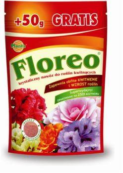 Hnojivo kryštalické - PLANTA - Floreo - kvitnúce rastliny - 250 g + 50 g ZDARMA