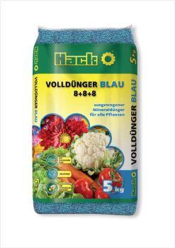 Hnojivo granulov. - HACK - Blau - univerzálne - 5 kg