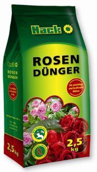 Hnojivo granulov. - HACK - ruže - 2,5 kg krabica