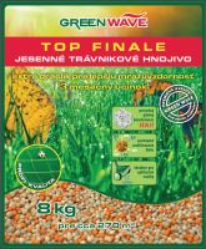 Hnojivo - GREEN WAVE Top Finale - 8 kg