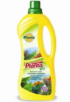 Hnojivo tekuté - PLANTA - Planta Vit - interiérové rastliny - jesenné/zimné - 1,0 l