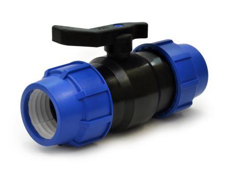 Guľový zatvárací ventil - mosadzná gulička - 63 x 63 mm