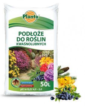 Substrát - PLANTA - pre kyslomilné rastliny - 50 l