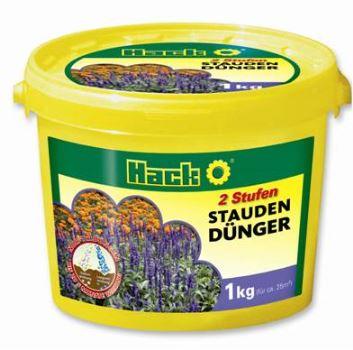Hnojivo granulov. - HACK - trvalky - dlhodobé 5M - 1 kg vedro