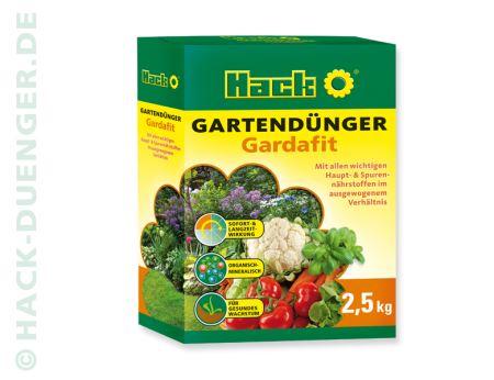 Hnojivo granulov. - HACK - GARDAFIT - 2,5kg