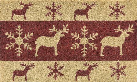 Koberček pred dvere - VERDEMAX - vzor Christmas