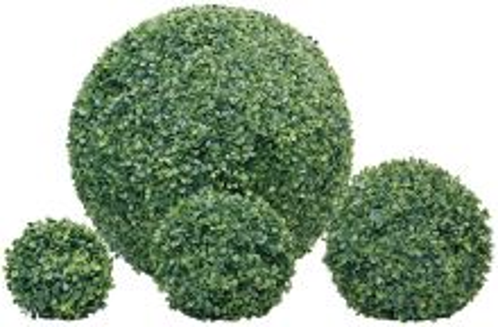 Umelá rastlina - Buxus guľa - priemer 30 cm