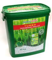 Hnojivo granulov. - GREEN WAVE - Turbo - trávnik - 8 kg (275 m2)