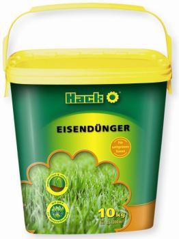 Hnojivo granulov. - HACK - Eisen 11 % - trávnik - proti machu - Antimach - 5 kg vedro