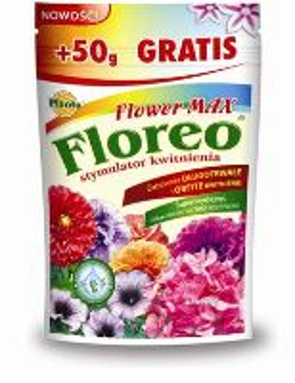 Hnojivo kryštalické - PLANTA - Floreo - Flower Max stimul. kvitnutia - 250 g + 50 g ZDARMA