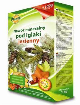 Hnojivo granulov. - PLANTA - ihličnany jeseň - 1,0 kg + 100 g ZDARMA