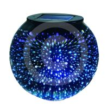 Svietidlo - solárne, na stôl - COLEBRIGHT Solar Sphere Stargazer Table Light-GARDMAN