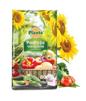 Substrát pre zeleninu - PLANTA - 80 l