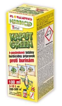 Herbicíd - KAPUT GREEN - 250 ml