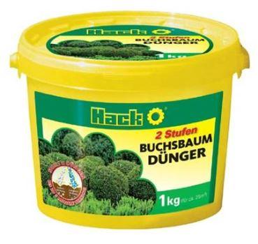 Hnojivo granulov. - HACK - buxusy a vždyzelené rastliny - dlhodobé 5M - 1 kg vedro