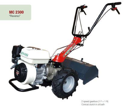 Jednonápravový malotraktor - benzínový - BENASSI MC2300 H vrátane pôdnej frézy