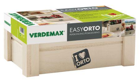 Easyorto – Chilli/paradajka; - VERDEMAX - Nádoba na pestovanie zeleniny a byliniek