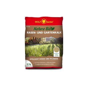 Hnojivo granulov. - WOLF Natura Bio - Organické vápenaté na trávnik a do záhrady (200 m2)